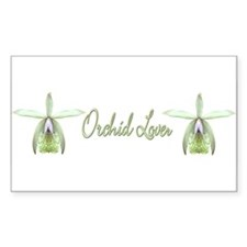 Orchid Lover Rectangle Decal