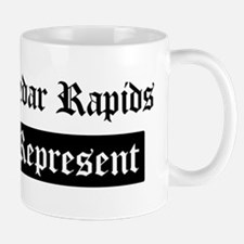 Cedar Rapids - Represent Mug