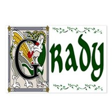 Grady Celtic Dragon Postcards (Package of 8)