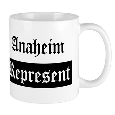 Anaheim - Represent Mug