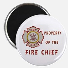 Fire Chief Property Magnet