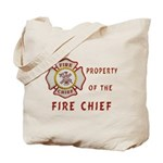 Fire Chief Property Tote Bag