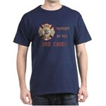 Fire Chief Property Dark T-Shirt