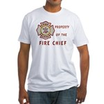 Fire Chief Property Fitted T-Shirt