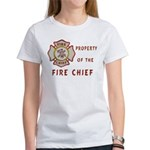 Fire Chief Property Women's T-Shirt