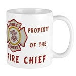 Fire Chief Property Mug