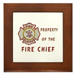 Fire Chief Property Framed Tile