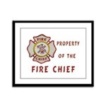 Fire Chief Property Framed Panel Print