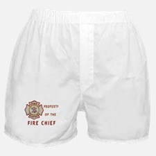 Fire Chief Property Boxer Shorts