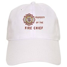 Fire Chief Property Baseball Cap