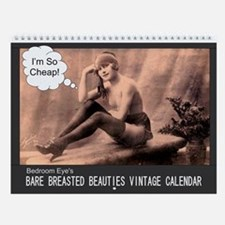 2013 Bare Breasted Vintage Wall Calendar