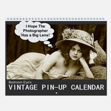 2013 Vintage Pin-Up Wall Calendar