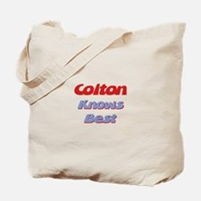 Colton Knows Best Tote Bag