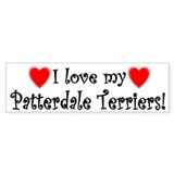 Patterdale terrier Stickers