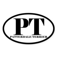 PT Abbreviated Patterdale Terrier Decal