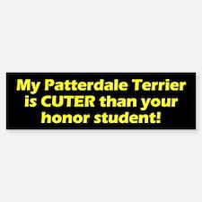 Cuter Patterdale Terrier Bumper Bumper Bumper Sticker