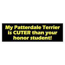 Cuter Patterdale Terrier Bumper Bumper Sticker