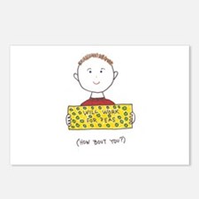 Cute Anti motivational Postcards (Package of 8)