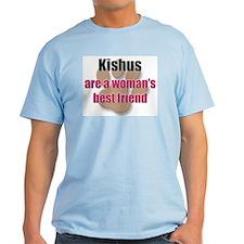 Kishus woman's best friend T-Shirt