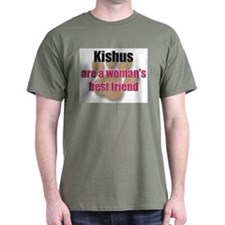 Kishus woman's best friend T-Shirt