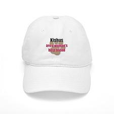 Kishus woman's best friend Baseball Cap