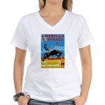 American Football Women's V-Neck T-Shirt