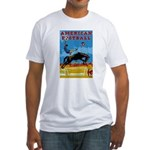 American Football Fitted T-Shirt