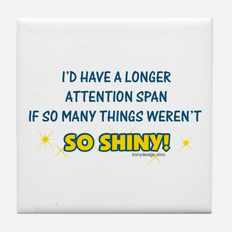Shiny Distractions Tile Coaster