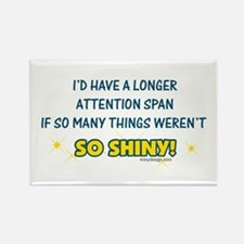 Shiny Distractions Rectangle Magnet
