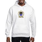 DEVEAU Family Crest Hooded Sweatshirt