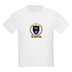 DEVEAU Family Crest Kids T-Shirt