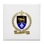 DEVEAU Family Crest Tile Coaster