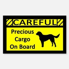 Precious Cargo Labrador Retriever Sticker (Rect)