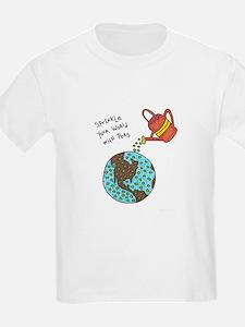 Cute Peace art T-Shirt