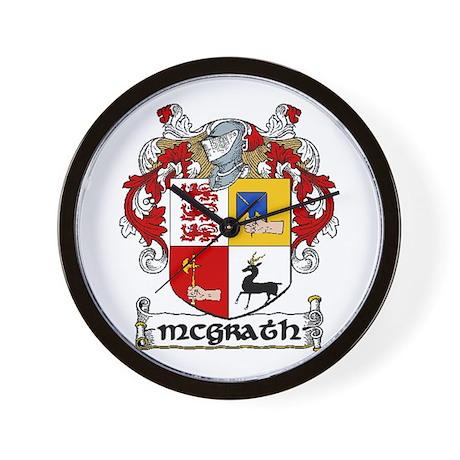McGrath Coat of Arms Wall Clock