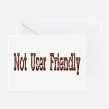 Not User Friendly Greeting Cards (Pk of 10)
