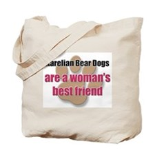 Karelian Bear Dogs woman's best friend Tote Bag