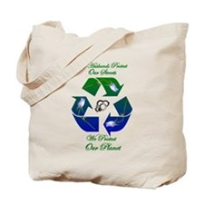 We Protect our Planet Green Bag