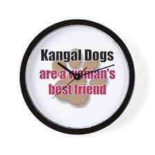 Kangal Dogs woman's best friend Wall Clock