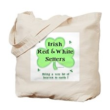 Red & White Heaven Tote Bag