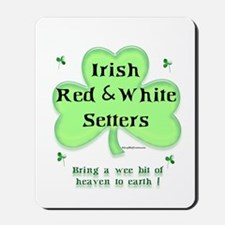 Red & White Heaven Mousepad