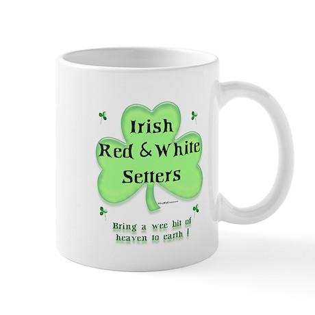 Red & White Heaven Mug