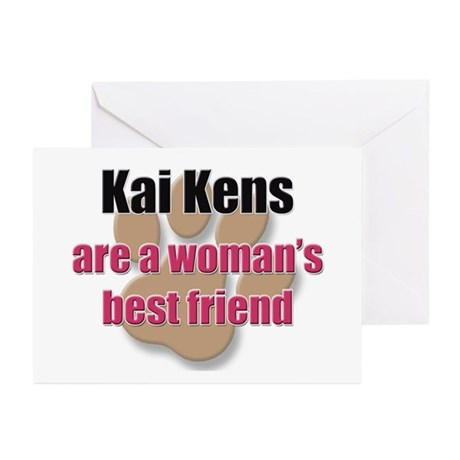 Kai Kens woman's best friend Greeting Cards (Pk of