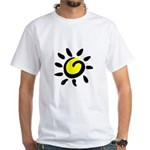 Here comes the Sun White T-Shirt