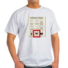 Today I Feel - Neutral Evil T-Shirt