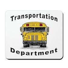 Transportation Department Mousepad