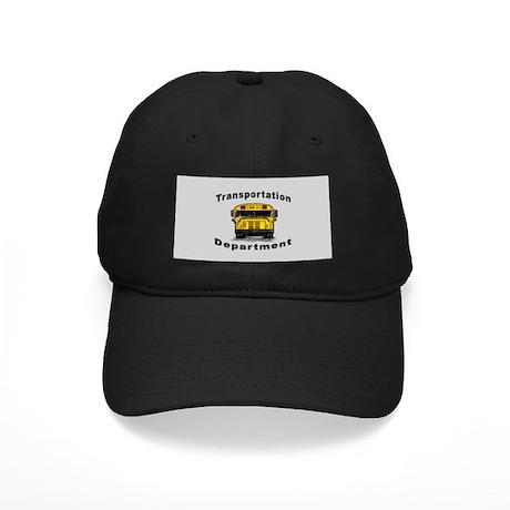 Transportation Department Black Cap