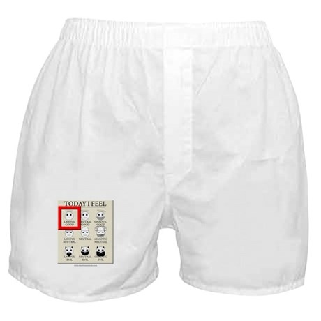 Today I Feel - Lawful Good Boxer Shorts