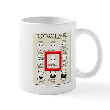 Today I Feel - Neutral Mug