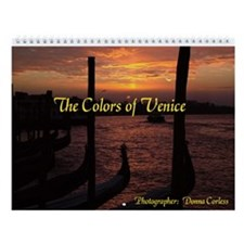 The Colors of Venice Wall Calendar
